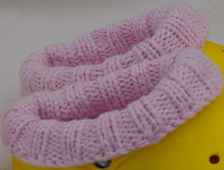 Clog_liners_adult_size_8_pink_lliner__yellow_clog__side_view_close_up__small2