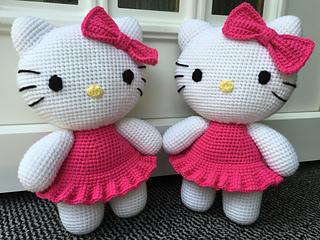Ravelry: Big Hello Kitty pattern by Ella.D Design