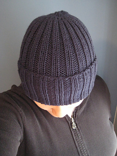 Ravelry Ribbed Watchman S Hat Pattern By Channah Koppel