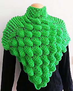 Ravelry: Poncho Crocodile stitch pattern by Jen Giezen