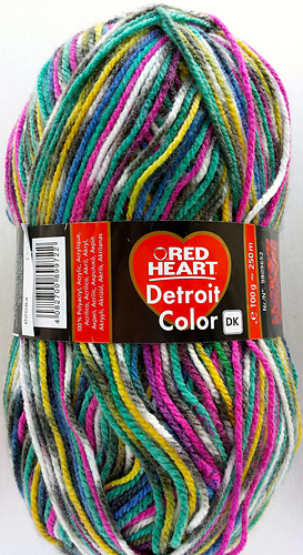 Ravelry Red Heart Detroit Color