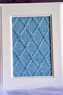 Happily_ever_after_knitted_wall_art_blue_lattice_small2