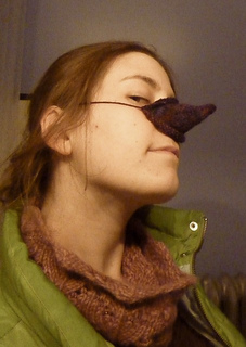 Knitted Nose Warmer Pattern : Ravelry: Nose Cozy pattern by Katie Rose