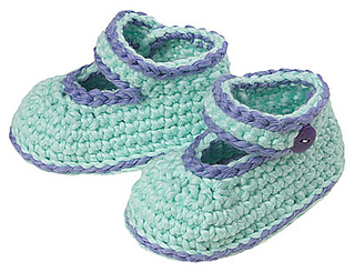 Gourmet Crochet Amigurumi Dinosaurs : Ravelry: Ankle Strap Shoes pattern by Carolyn Christmas