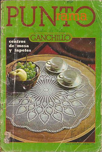 Ravelry puntorama ganchillo 3 patterns for Centros de mesa de ganchillo