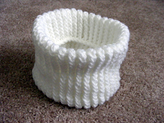 Ravelry Loom Knit Neck Warmer Pattern By Anne Bipes