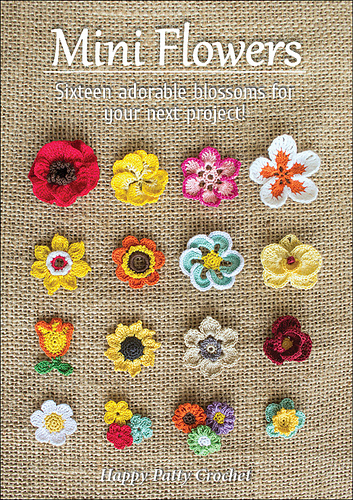 Medium Crochet Flower Pattern : Ravelry: Mini Flowers - patterns