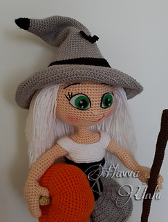 Ravelry: Cute Witch pattern by Havva ?nl?