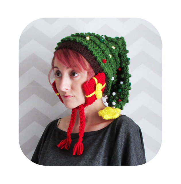 huge christmas tree hat par Hello Happy