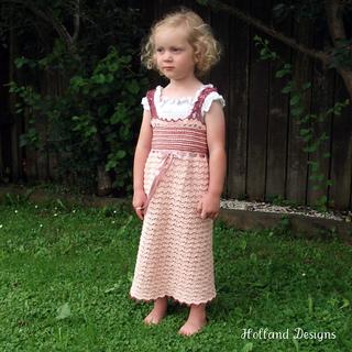 Ravelry: Brocade Princess Dress pattern by Lisa van Klaveren
