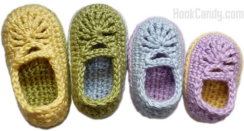Baby_mary_jane_skimmers_crocheted_booties_hook_candy_crochet_patterns_blue_purple_green_yellow_cute_size_0_to_12_months_medium