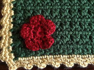 Ravelry The Secret Garden Baby Blanket Pattern By Sara Leighton