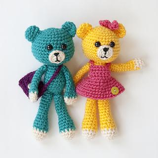 Amigurumi Care Bears Pattern : Ravelry: Amigurumi Pals: Bear pattern by Karla Fitch