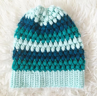 Crochet Beanie Pattern J Hook : Ravelry: Puff Stitch Slouchy Beanie pattern by Jessica Carey
