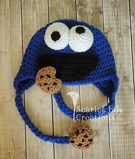 Crochet Jamie Stitch : Ravelry: Cookie Monster Crochet Hat pattern by Jamie Huisman