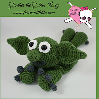 Ravelry: Goblin Lovey Amigurumi pattern by Forever Stitchin