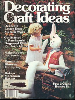Ravelry decorating craft ideas magazine march 1980 for Create and decorate magazine free