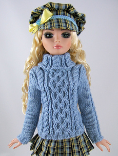 Free Knitting Patterns For Tonner Dolls : Ravelry: Trellis & Twists-EW for Robert Tonners 17 ...