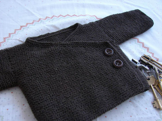 Garter Stitch Baby Kimono by Joji Locatelli (Copyright J. Locatelli)