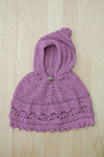 Free Crochet Patterns Toddlers Poncho : Ravelry: Baby Poncho pattern by Gayle Bunn