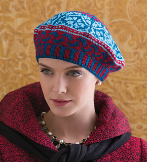 Fair Isle Beret Knitting Pattern : Ravelry: Fair Isle Beret pattern by Heidi Todd Kozar
