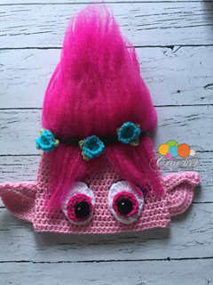Crochet Pattern For Troll Hat : Ravelry: Poppy troll hat pattern by Tawnya Myers