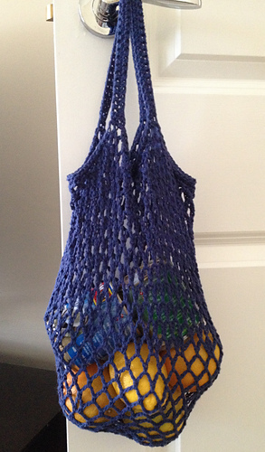 Crochet Net Bag Pattern Free : Ravelry: Grocery Bag pattern by Haley Waxberg