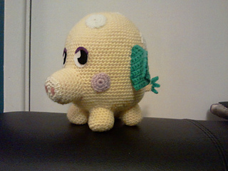 Amigurumi Moshi Monsters : Ravelry: Moshi Monster - Mr Snoodle pattern by Justine Swain
