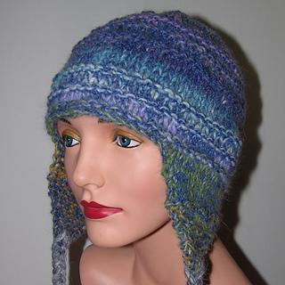 Earflap Hat Knitting Pattern Bulky Yarn : Ravelry: Bulky Earflap Hat pattern by Jill Bujold