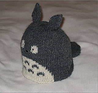 Knitting Pattern For Totoro Hat : Ravelry: Totoro Knit Hat pattern by Julie Chen