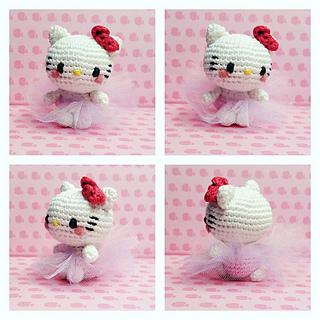 Ravelry: Hello Kitty Ballerina pattern by Mei Li Lee