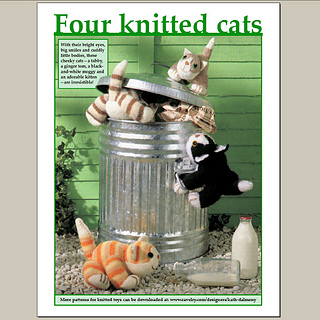 Four_knitted_cats_pattern_small2