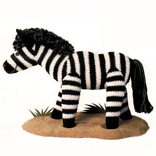 Ravelry: Zebra pattern by Kath Dalmeny