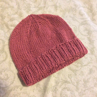 Ravelry: Very Basic Easy Knit Hat pattern by Beth P