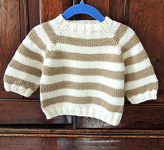 Ravelry Easy As Abc Top Down Raglan Baby Sweater Pattern