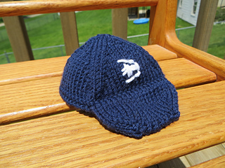 Knit Baseball Cap Pattern : Ravelry: Baseball Cap for Arne & Carlos Dolls pattern by Kelly Komejan Cr...