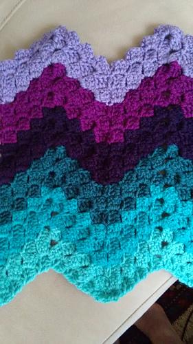 Vintage Ripple Crochet Afghan Pattern : Ravelry: Vintage Rippling Blocks pattern by Angela Maria