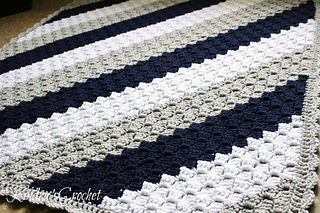 Ravelry Corner To Corner Baby Blanket Pattern By Kindra S