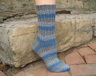 Ravelry: Magic Loop Sock pattern by Michelle Hunter
