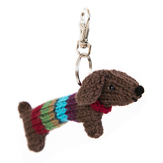 Knitting Patterns For Sausage Dogs : Ravelry: Tiny Sausage Dog pattern by Sue Stratford
