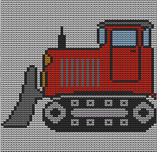 Knitting Pattern With Tractor Motif : Ravelry: toddlers bulldozer knitting pattern pattern by irene court