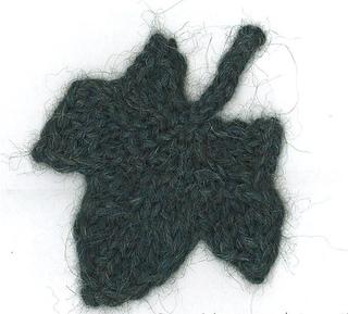 Ivy Leaf Knitting Pattern : Ravelry: Knit Ivy Leaf pattern by Karen Savage