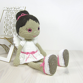 Angel Amigurumi Tutorial : Ravelry: Angel - Amigurumi Doll pattern by Kristi Tullus