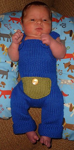 Ravelry: Knit Baby Overalls pattern by Kylie Marie Brown