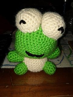 Ravelry: Crocheted Keroppi Lookalike Amigurumi pattern by ...