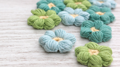 Medium Crochet Flower Pattern : Ravelry: lanas y ovillos - patterns