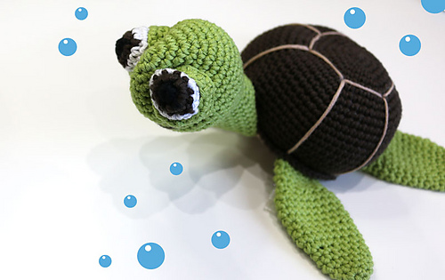 Amigurumi Sailor Octopus Pattern Free : Ravelry: Big Turtle pattern by Lanasyovillos official