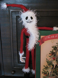 Ravelry Jack Skellington In His Santa Outfit Pattern By