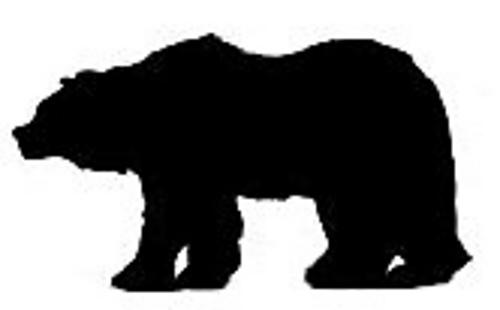 Ravelry Bear Silhouette Chart Pattern By Lea Barrick