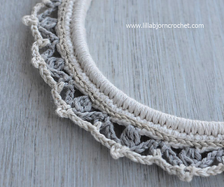 Ravelry Borders Around Embroidery Hoop Pattern By